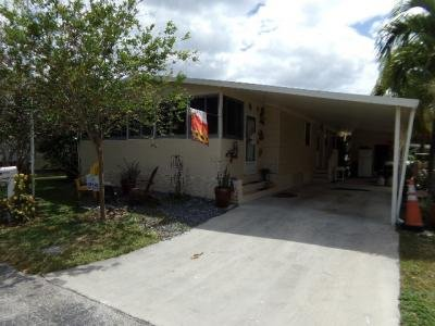 Mobile Home at 6814 NW 28th Dr.  Lot 365 Margate, FL 33063