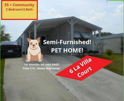 Mobile Home at 6 La Villa Court Fort Pierce, FL 34951