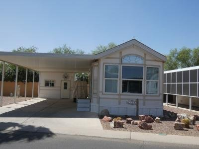 Mobile Home at 1110 North Henness Rd. #123 Casa Grande, AZ 85122