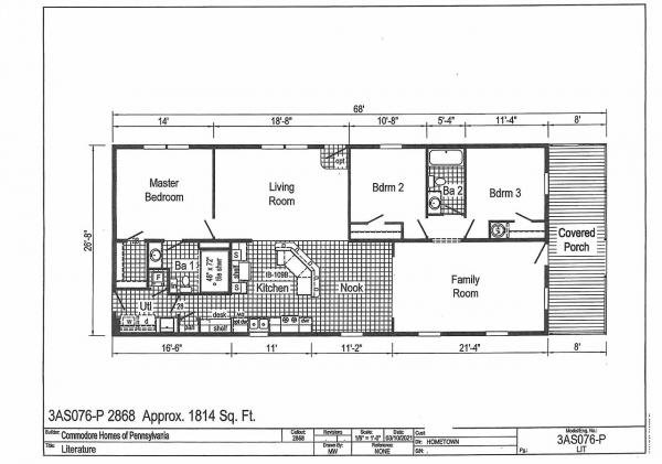 Photo 1 of 1 of home located at 506 Turkey Branch Seaford, DE 19973