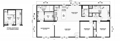 Mobile Home at 13552 Peach St Carleton, MI 48117