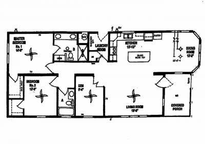 Mobile Home at 2456 Boca Way Place Melbourne, FL 32904