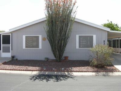 Mobile Home at 8401 S. Kolb Rd. #231 Tucson, AZ 85756