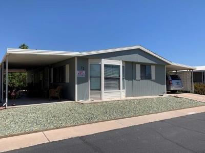 Mobile Home at 8103 E Southern Av #72 Mesa, AZ 85209