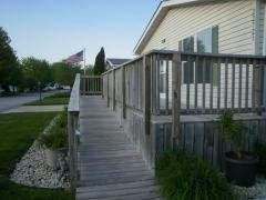Front ramp and deck