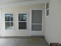 Carport entrance to Florida room
