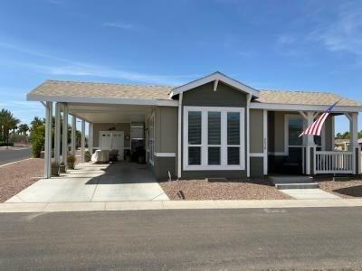 Mobile Home at 1110 North Henness Rd. #2039 Casa Grande, AZ 85122