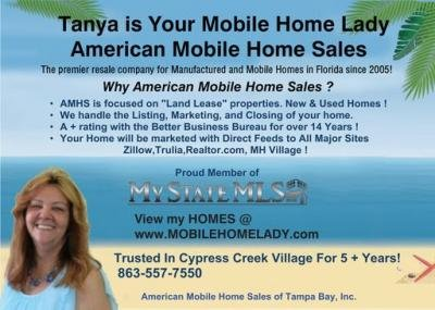 Mobile Home at 344 Monterey Cypress Dr Winter Haven, FL 33881