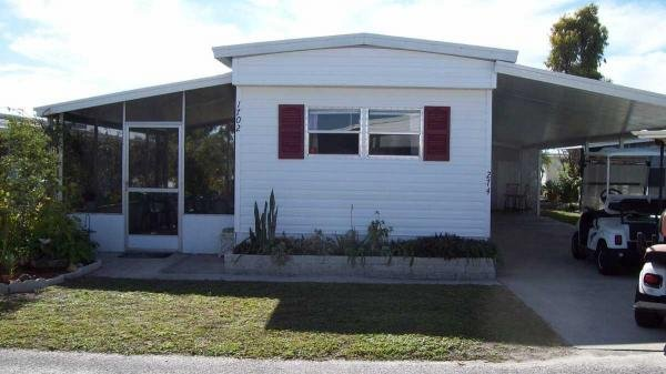 Photo 1 of 2 of home located at 1702 Moonraker Drive Lot 274 Ruskin, FL 33570