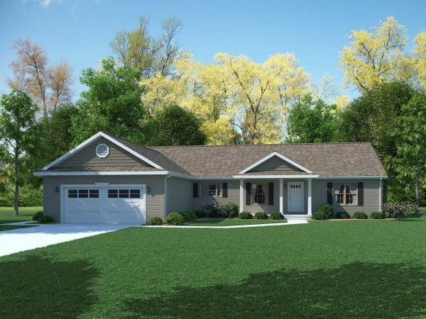 Photo 2 of 2 of home located at Lot 6 Pheasant Run Estates Gladwin, MI 48624