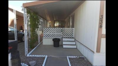 Mobile Home at 4065 E. University Drive #334 Mesa, AZ 85205