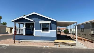 Mobile Home at 10936 E. Apache Trail, Lot#25 Apache Junction, AZ 85120