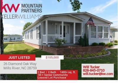 Mobile Home at 26 Diamond Oak Way Mills River, NC 28759