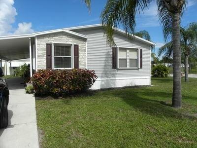 Mobile Home at 43 Montilla Way Port Saint Lucie, FL 34952