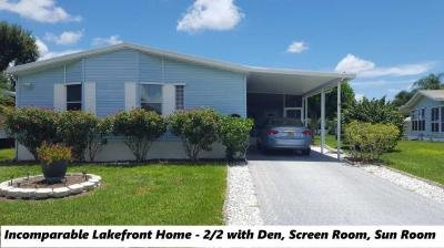 Mobile Home at 542 Stanleys Cay Vero Beach, FL 32966