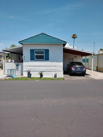 Mobile Home at 3150 Arville Street #71 Las Vegas, NV 89102