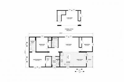 Mobile Home at 46205 Le Grande Blvd, Site #1010 Macomb, MI 48044