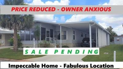 Mobile Home at 1405 82nd Avenue #28 Vero Beach, FL 32966
