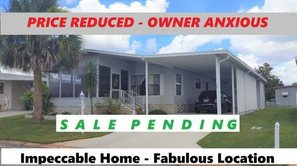 Photo 1 of 2 of home located at 1405 82nd Avenue #28 Vero Beach, FL 32966