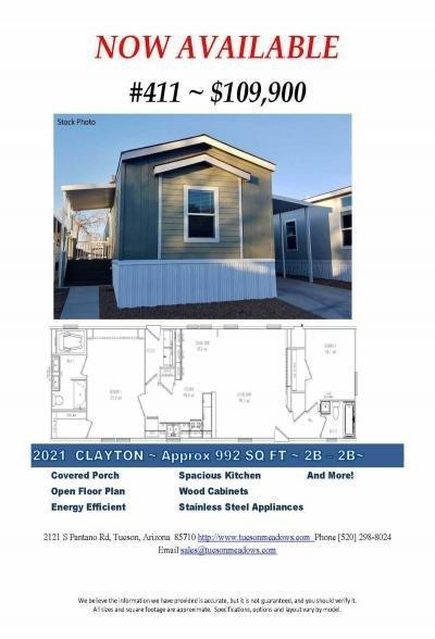 Mobile Home at 2121 S Pantano Rd #411 Tucson, AZ 85710