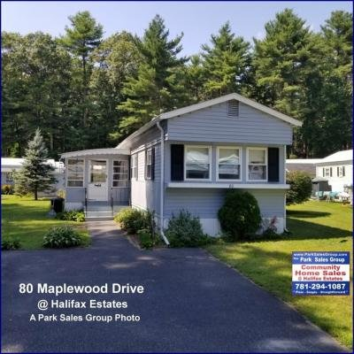 Mobile Home at 80 Maplewood Drive Halifax, MA 02338