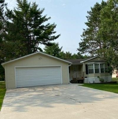 Mobile Home at 8935 Shade Tree Lane Woodruff, WI 54568