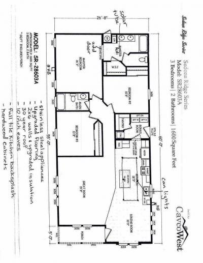 Mobile Home at 853 N State Route 89 Sp 16 Chino Valley, AZ 86323