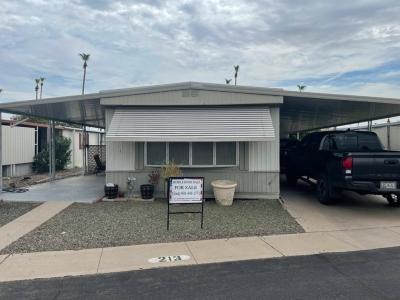Mobile Home at 303  S Recker Rd , #213 Mesa, AZ 85206