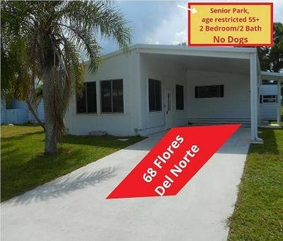 Mobile Home at 68 Flores Del Norte Fort Pierce, FL 34951