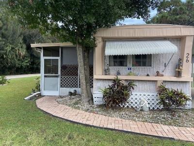 Mobile Home at 26 Pepper Dr Melbourne, FL 32934