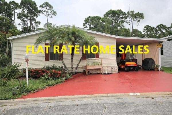Photo 1 of 2 of home located at 8775 20th St Lot 171 Vero Beach, FL 32966