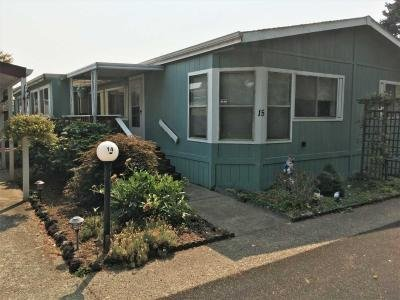 Mobile Home at 18485 SW Pacific Drive, Sp. #15 Tualatin, OR 97062