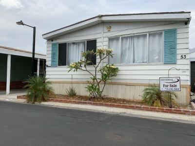 Mobile Home at 320 N. Park Vista #53 Anaheim, CA 92806