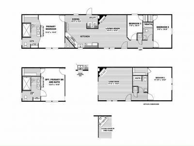 Mobile Home at 208 Redwood Dr. Newport, NC 28570