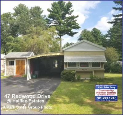 Mobile Home at 47 Redwood Drive Halifax, MA 02338