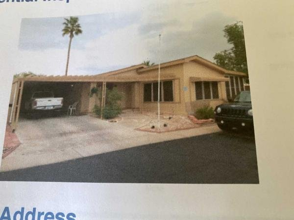 Photo 1 of 1 of home located at 10701 N 99th Ave Lot 22 Peoria, AZ 85345