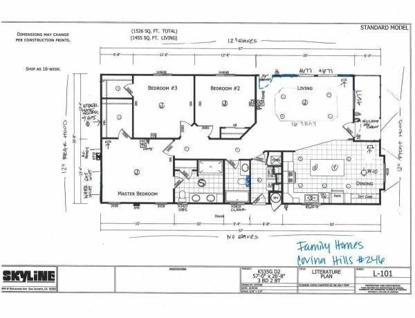 2022 Skyline Mobile Home For Sale