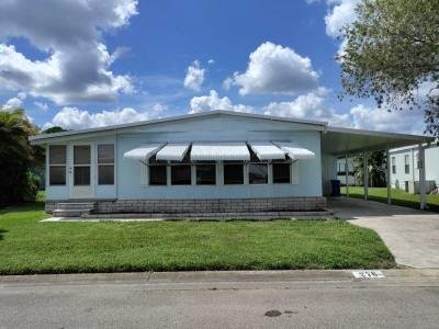 Mobile Home at 7300 20th St. Lot #276 Vero Beach, FL 32966