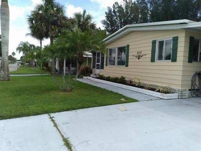 Mobile Home at 7300 20th St. Lot 410 Vero Beach, FL 32966