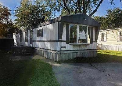 Mobile Home at 3730 Geneva Dr. Lot 50 Bay City, MI 48706
