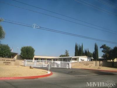 Hillside Mobile Home Estates Mobile Home Park in Sun City ...