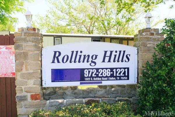 Rolling Hills Mobile Home Park in Dallas, TX