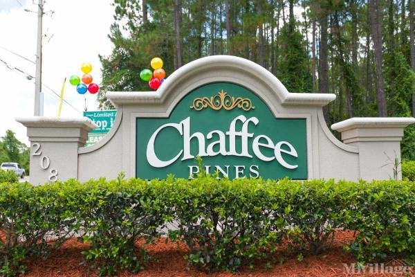 Chaffee Pines Mobile Home Park in Jacksonville, FL