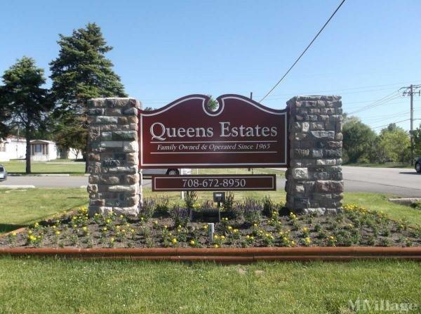 Queens Estates Mobile Home Park in Crete, IL