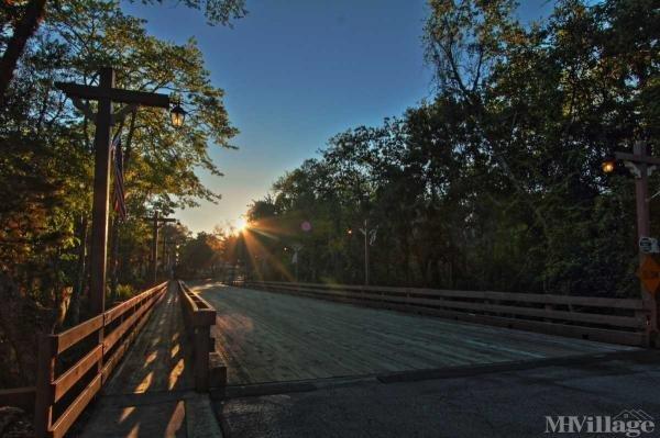 Restored Wooden Bridge