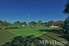 Lit Tennis Courts