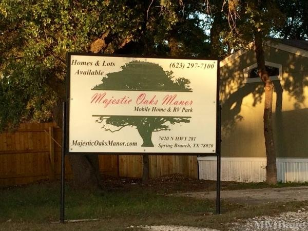 Photo of Majestic Oaks Manor, Spring Branch, TX
