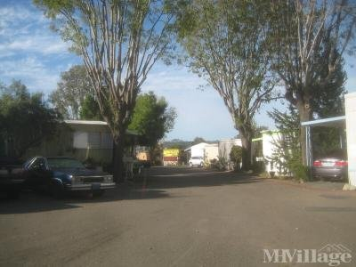 Mobile Home Park in San Juan Capistrano CA