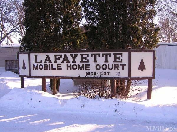 Lafayette Mobile Home Park Mobile Home Park in Chippewa Falls, WI