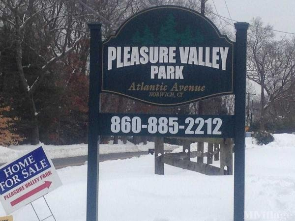 Pleasure Valley Mobile Home Park in Norwich, CT